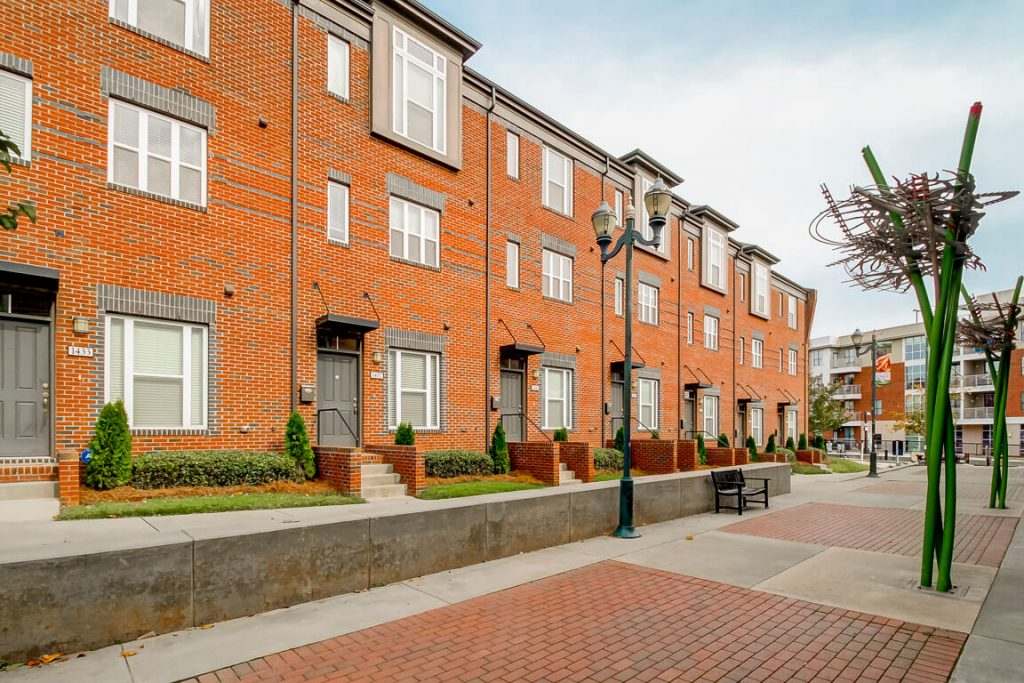 10 Charlotte Townhomes Historic SouthEnd